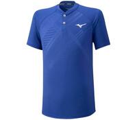 Mizuno Shadow Polo Erkek T-shirt Mavi - Thumbnail