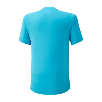 Mizuno Shadow Polo Erkek T-Shirt Mavi