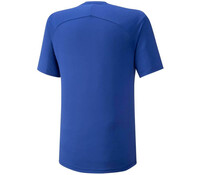 Mizuno Shadow Tee Erkek T-shirt Mavi - Thumbnail