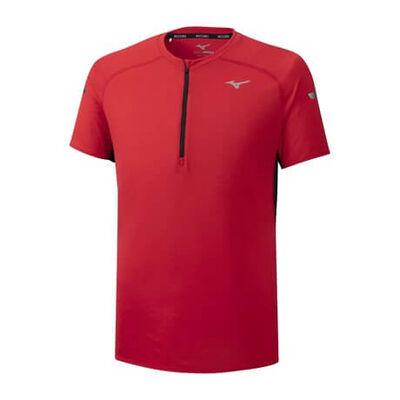 Mizuno Solarcut Hz Tee Erkek T-shirt Kırmızı