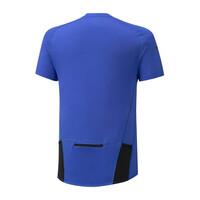 Mizuno Solarcut Hz Tee Erkek T-shirt Mavi - Thumbnail