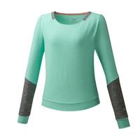 Mizuno Style Ls Shirt Kadın T-Shirt Yeşil - Thumbnail