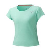 Mizuno Style Tee Kadın T-Shirt Yeşil - Thumbnail