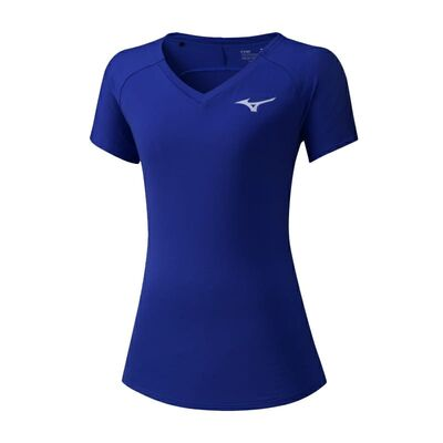 Mizuno Tee Kadın T-Shirt Mavi
