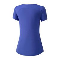 Mizuno Tee Kadın T-Shirt Mavi - Thumbnail
