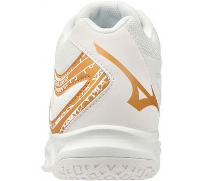 Thunder Blade 2 MID Unisex Voleybol Ayakkabısı Beyaz / Sarı