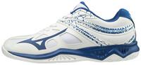 Mizuno Thunder Blade 2 Unisex Voleybol Ayakkabısı Beyaz / Mavi - Thumbnail