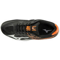 Mizuno Thunder Blade 2 Unisex Voleybol Ayakkabısı Siyah / Turuncu - Thumbnail
