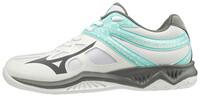 Mizuno Thunder Blade 2 Unisex Voleybol Ayakkabısı Beyaz / Gri - Thumbnail