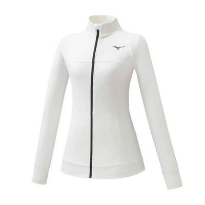 Mizuno Training Jacket Kadın Sweat Beyaz