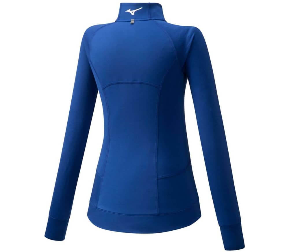 Mizuno Training Jacket Kadın Sweat Lacivert - Thumbnail