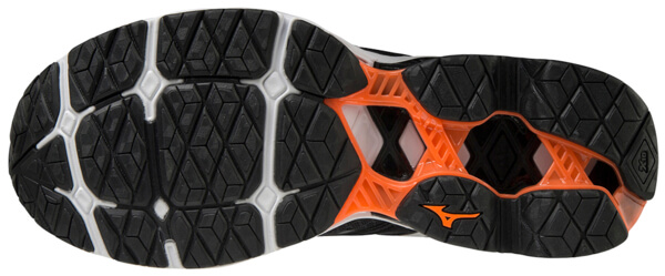 Mizuno Wave Creation 21 Erkek Koşu Ayakkabısı Siyah - Thumbnail