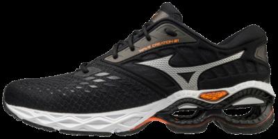 Mizuno Wave Creation 21 Erkek Koşu Ayakkabısı Siyah