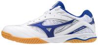 Wave Drive 8 Unisex Masa Tenisi Ayakkabısı Beyaz / Mavi - Thumbnail
