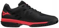 Wave Exceed Sl 2 Cc Erkek Tenis Ayakkabısı Siyah/Kırmızı - Thumbnail