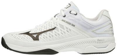 Mizuno Wave Exceed Tour 4 AC Unisex Tenis Ayakkabısı Beyaz