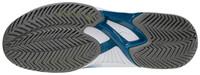 Mizuno Wave Exceed Tour 4 AC Unisex Tenis Ayakkabısı Mavi / Beyaz - Thumbnail