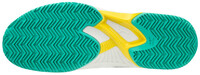 Mizuno Wave Exceed Tour 4 CC Unisex Tenis Ayakkabısı Beyaz / Yeşil - Thumbnail
