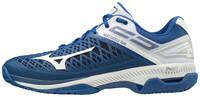 Mizuno Wave Exceed Tour 4 CC Unisex Tenis Ayakkabısı Lacivert / Beyaz - Thumbnail