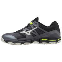 Mizuno Wave Hayate 6 Erkek Koşu Ayakkabısı Siyah/Gri - Thumbnail