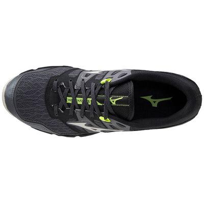 Mizuno Wave Hayate 6 Erkek Koşu Ayakkabısı Siyah/Gri