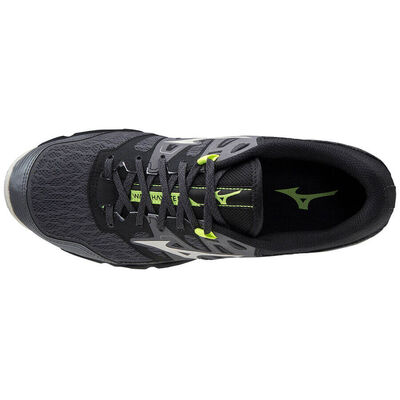 Wave Hayate 6 Erkek Koşu Ayakkabısı Siyah/Gri
