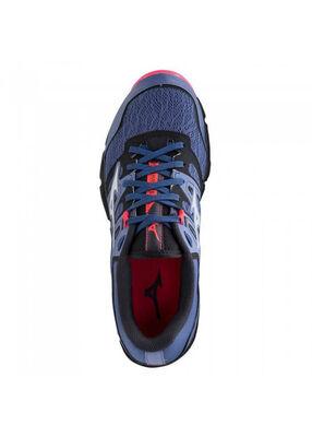Mizuno Wave Hayate 6 Unisex Koşu Ayakkabısı Mavi/Siyah