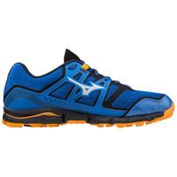 Mizuno Wave Hayate 6 Erkek Koşu Ayakkabısı Mavi/Turuncu - Thumbnail
