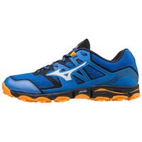 Wave Hayate 6 Erkek Koşu Ayakkabısı Mavi/Turuncu - Thumbnail