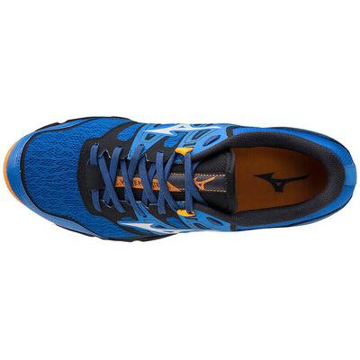 Wave Hayate 6 Erkek Koşu Ayakkabısı Mavi/Turuncu