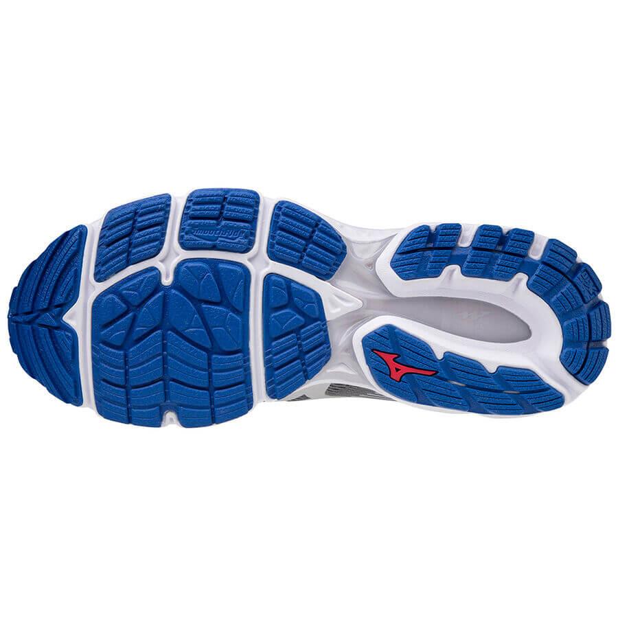 Mizuno Wave Inspire 16 Erkek Koşu Ayakkabısı Gri - Thumbnail