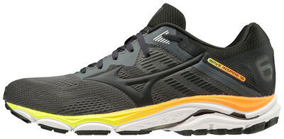Mizuno Wave Inspire 16 Erkek Koşu Ayakkabısı Gri/Turuncu