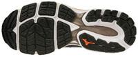 Mizuno Wave Inspire 16 Erkek Koşu Ayakkabısı Gri/Turuncu - Thumbnail