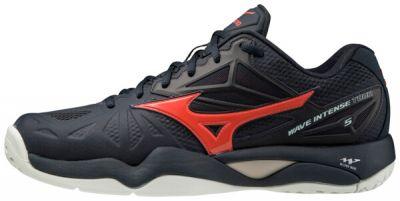 Wave Intense Tour 5 AC Erkek Tenis Ayakkabısı Siyah