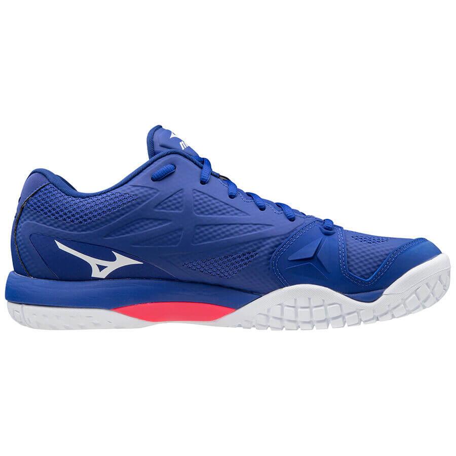 Mizuno Wave Intense Tour 5 AC Unisex Tenis Ayakkabısı Mavi - Thumbnail