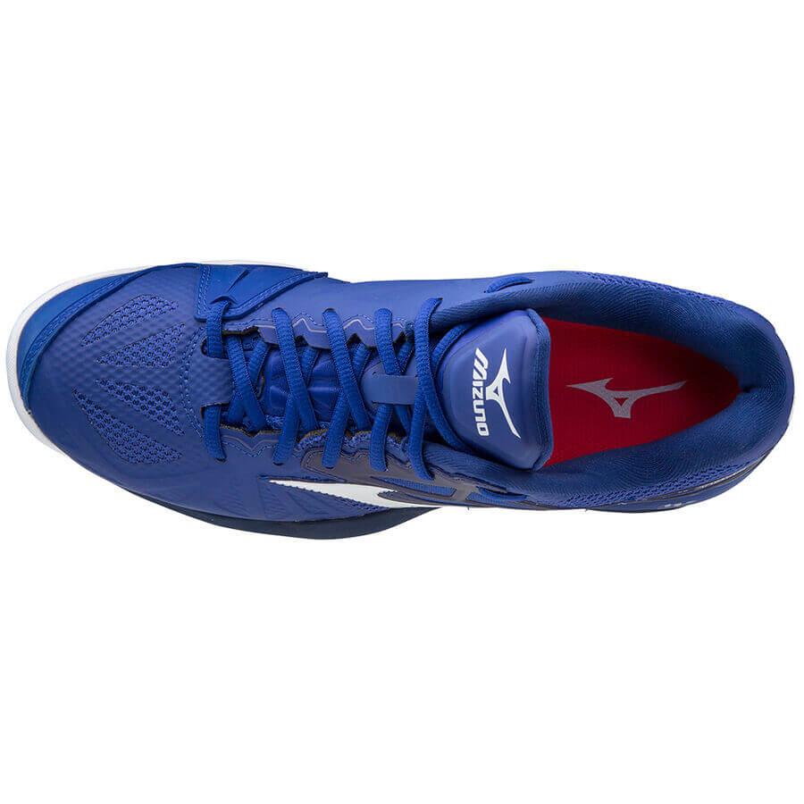 Mizuno Wave Intense Tour 5 CC Unisex Tenis Ayakkabısı Mavi