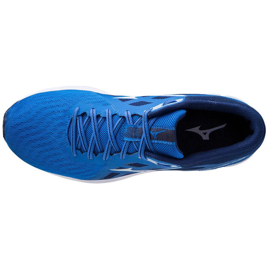Mizuno Wave Kizuna 2 Erkek Koşu Ayakkabısı Mavi - Thumbnail