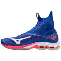 Mizuno Wave Lightning Neo Unisex Voleybol Ayakkabısı Mavi - Thumbnail