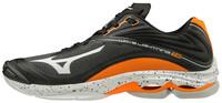 Mizuno Wave Lightning Z6 Unisex Voleybol Ayakkabısı Siyah / Turuncu - Thumbnail