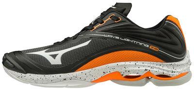 Wave Lightning Z6 Unisex Voleybol Ayakkabısı Siyah / Turuncu