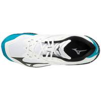 Mizuno Wave Lightning Z6 Unisex Voleybol Ayakkabısı Beyaz / Mavi - Thumbnail