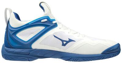 Mizuno Wave Mirage 3 Unisex Hentbol Ayakkabısı Beyaz / Mavi