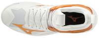 Mizuno Wave Mirage 3 Unisex Hentbol Ayakkabısı Beyaz / Sarı - Thumbnail