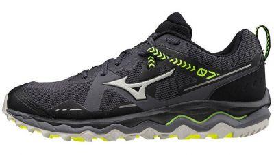Mizuno Wave Mujin 7 Erkek Koşu Ayakkabısı Siyah