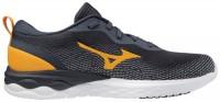 Mizuno Wave Revolt Erkek Koşu Ayakkabısı Gri/Sarı - Thumbnail