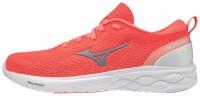 Mizuno Wave Revolt Kadın Koşu Ayakkabısı Kırmızı - Thumbnail