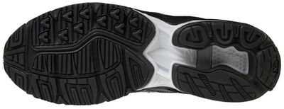 Mizuno Wave Rider 10 Kuro Unisex Günlük Giyim Ayakkabısı Siyah