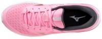 Mizuno Wave Rider 24 Jr Kadın Koşu Ayakkabısı Pembe - Thumbnail