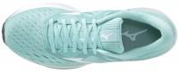 Mizuno Wave Rider 24 Kadın Koşu Ayakkabısı Su Yeşili - Thumbnail