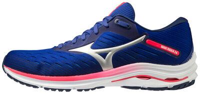 Mizuno Wave Rider 24 Erkek Koşu Ayakkabısı Mavi